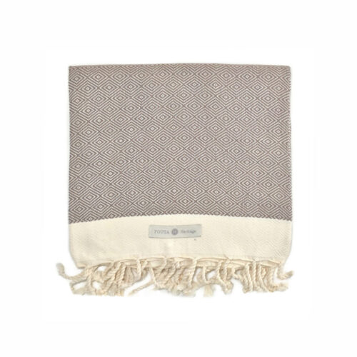 Fouta diamante fendi